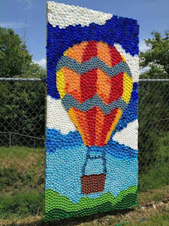 Amazing bottle caps Art