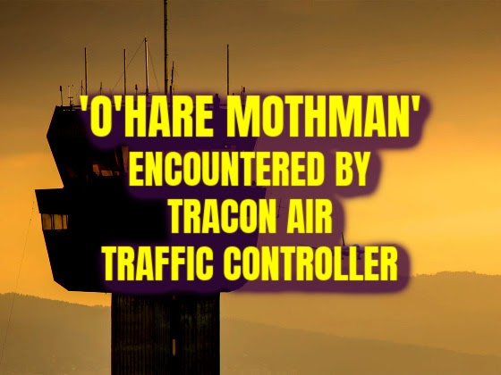 'O'Hare Mothman' Encountered By TRACON Air Traffic Controller