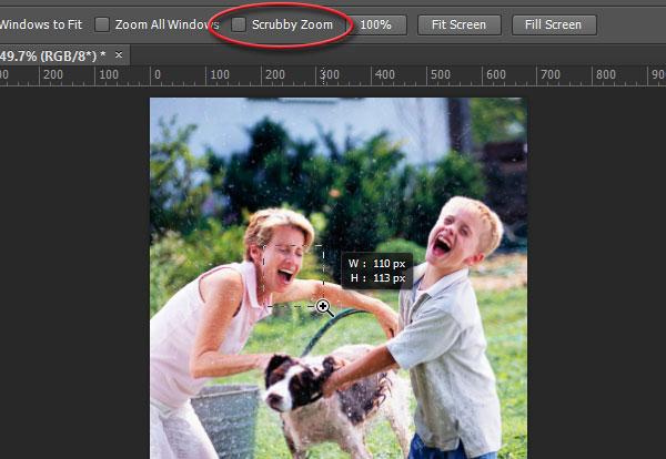 Ta je scrubby zoom u photoshop cc uveliavanje slike u photoshop sa scrubbby zoom opcijom iskljuenom ccuart Image collections