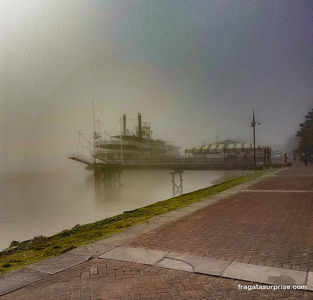 Barco a vapor Natchez, Nova Orleans