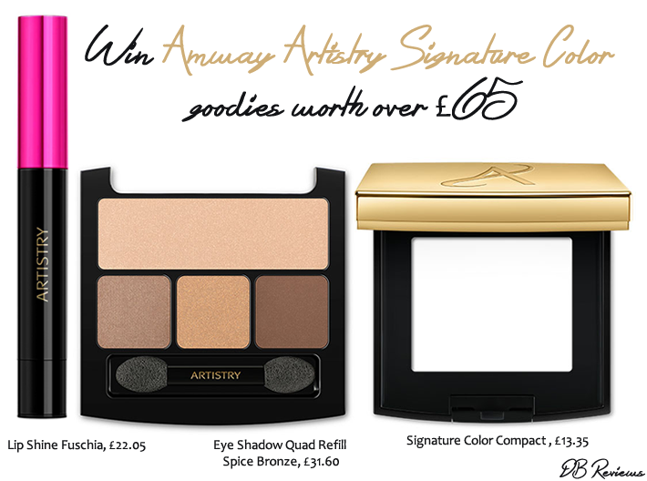 Win Amway Artistry Signature Color Goodies Worth Over GBP65