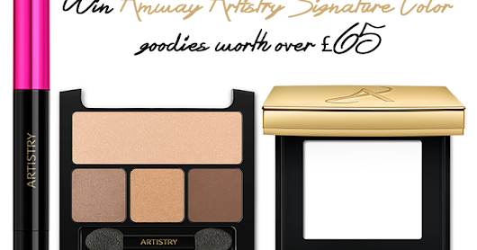 Win Amway Artistry Signature Color Goodies Worth Over £65
