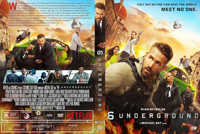 6 Underground DVD Cover