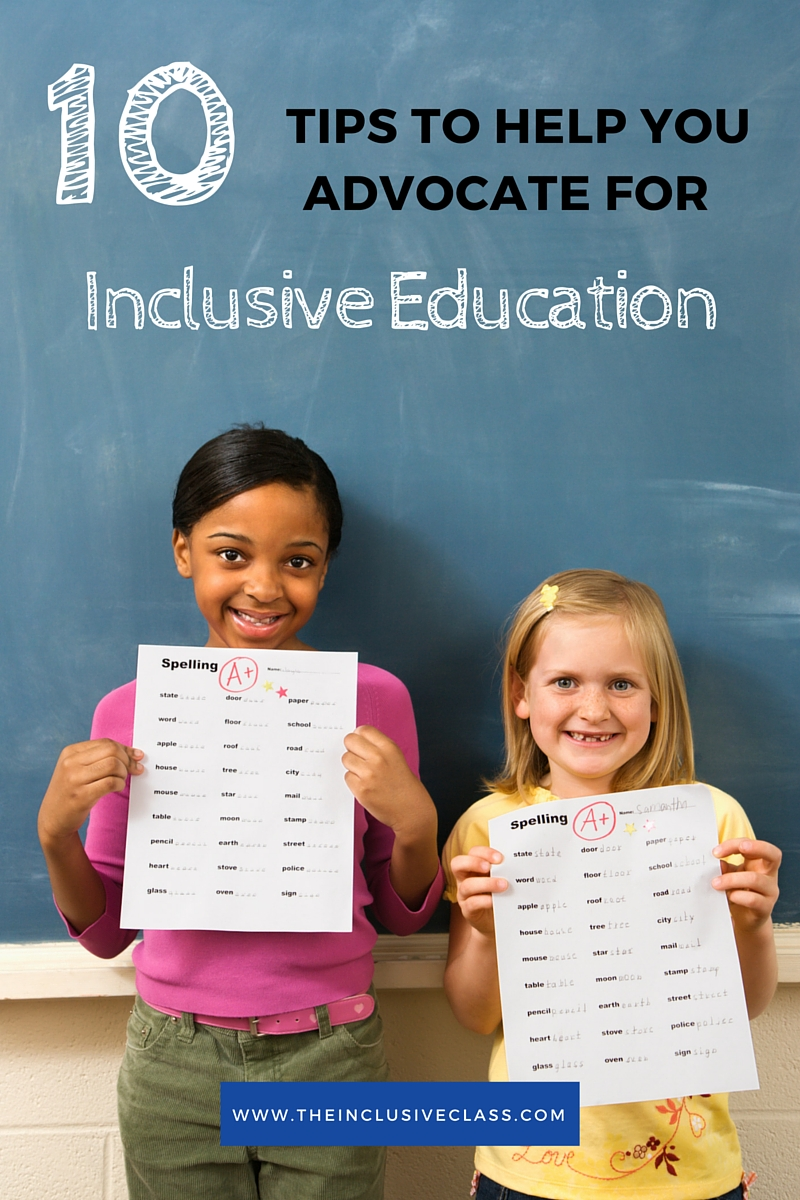 inclusive education This free education essay on essay: inclusive education and inclusion is perfect for education students to use as an example.