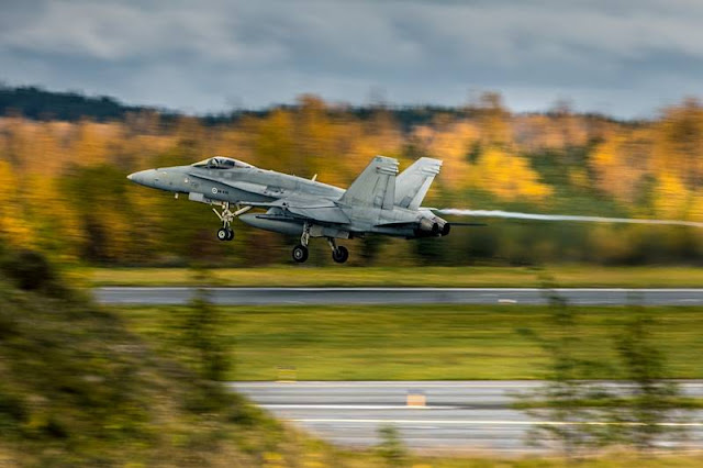 Finnish Ruska 20 exercise