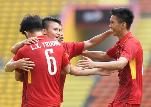 Công Phượng tỏa sáng, U22 Việt Nam đại thắng 4-1 2