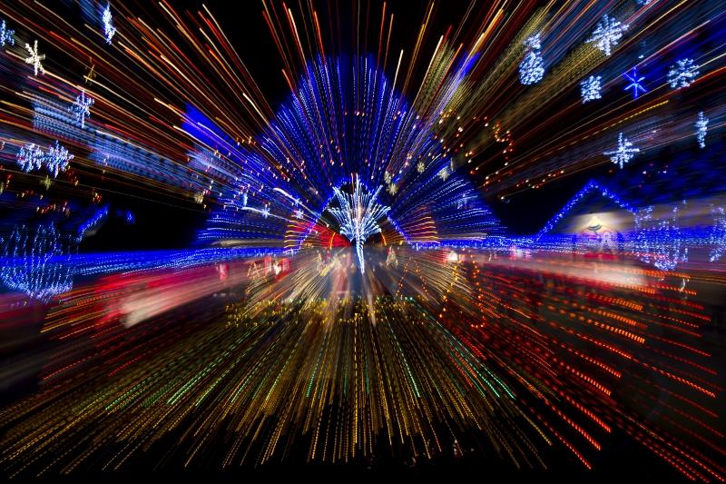 La Salette Shrine Christmas Lights