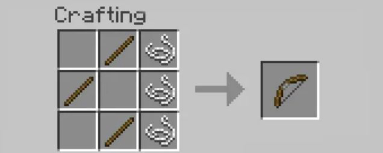 To make a bow you need threads and wooden sticks