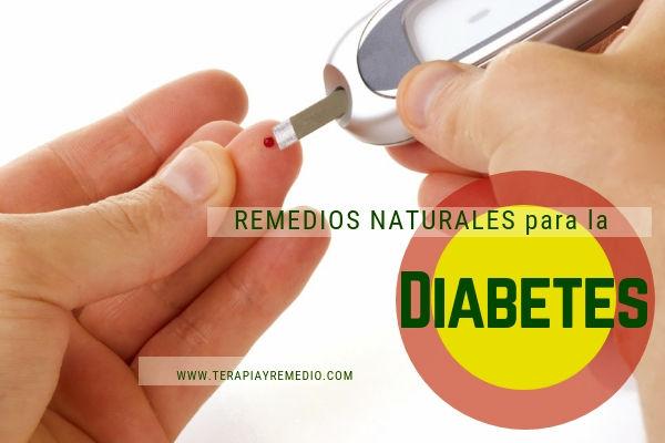 Remedios naturales para el tratamiento de la diabetes