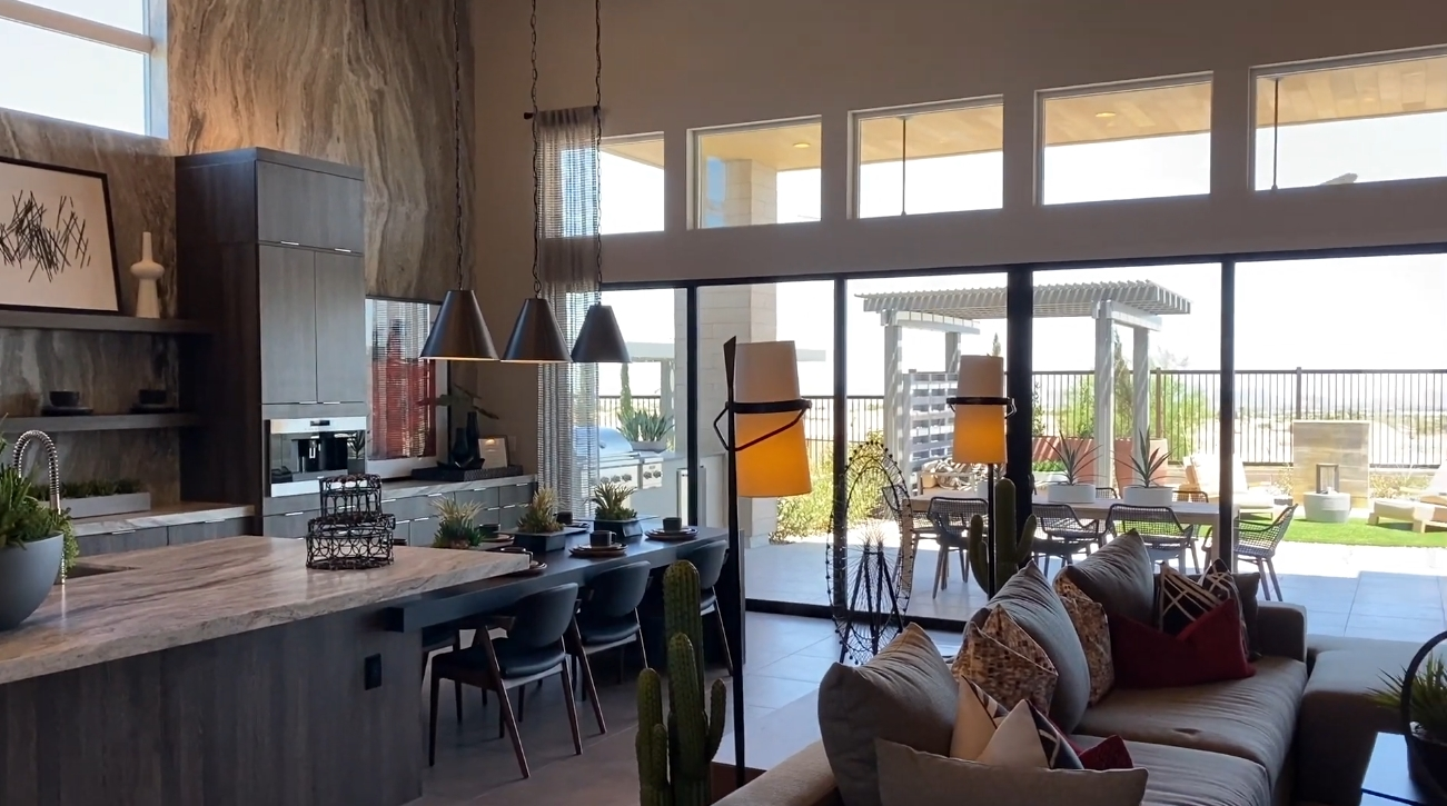 25 Photos vs. Summerlin Nevada Guard Gated Homes Interior Design Tour   3200 SF   3 BR + Casita   3.5 BA   Priced from the High $800K's