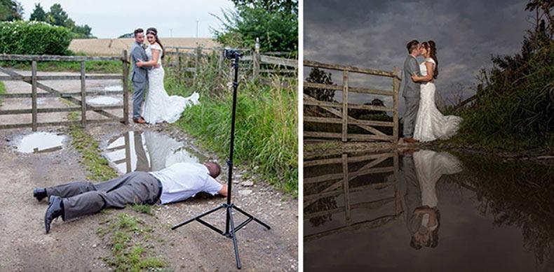 15 fotógrafos de boda muestran lo que se necesita para hacer la toma perfecta