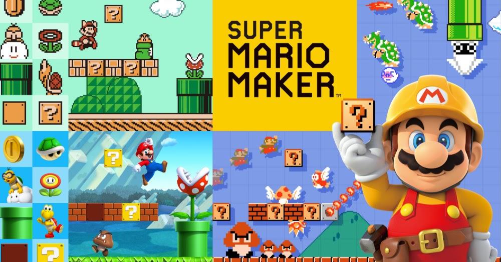 Reino do Cogumelo: Super Mario Maker mostra bom desempenho em vendas ...