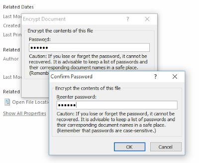 Cara Membuat Password Dokumen Ms.Word