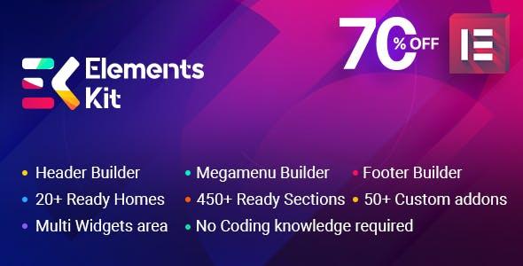 ElementsKit v2.2.1 - The Ultimate Addons for Elementor Page Builder
