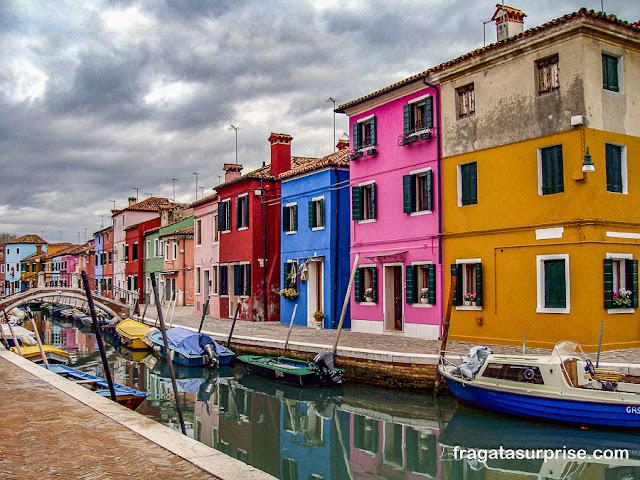 Ilha de Burano, Veneza, Itália