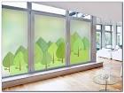 Opaque WINDOW GLASS