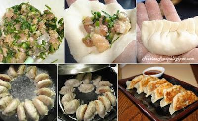 Resep Gyoza Ayam Udang dan Cara Membuatnya