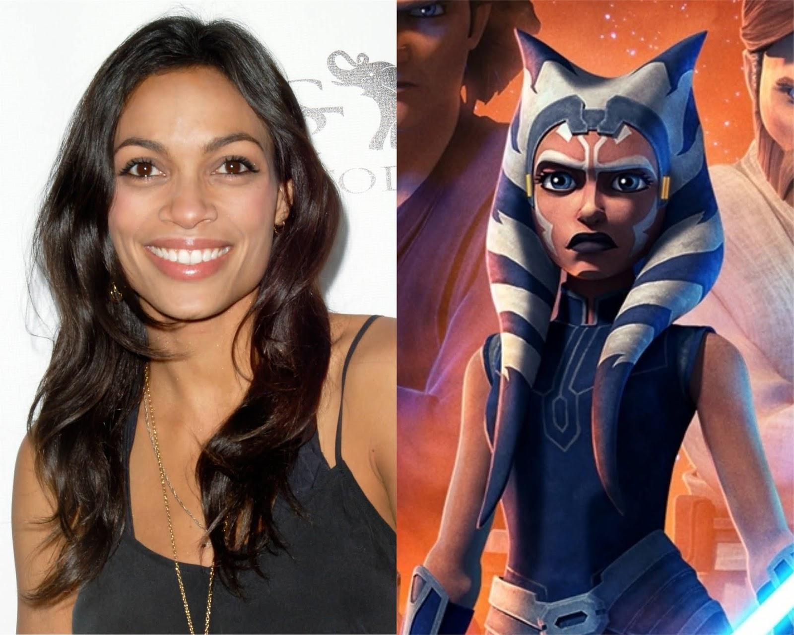 The Star Wars Underworld Report Rosario Dawson To Play Ahsoka ...