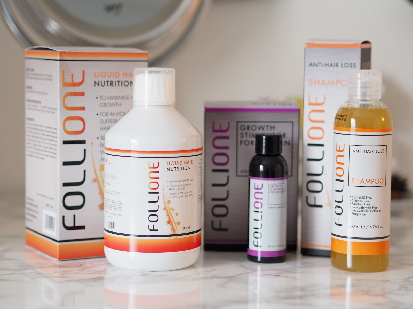 Follione review hair growth hair loss Priceless Life of Mine Over 40 lifestyle blog