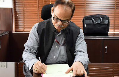 Pramod Kumar Das assumes charge as Secretary, Ministry of Minority Affairs