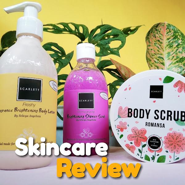 Skincare Review: Scarlett Brightening Body Care