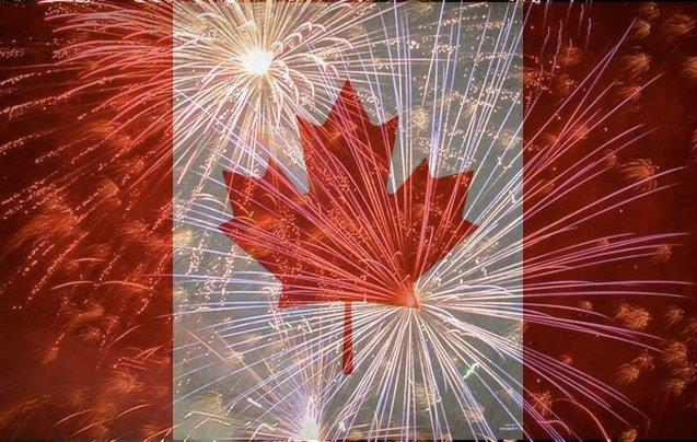 HD pictures of Canada day