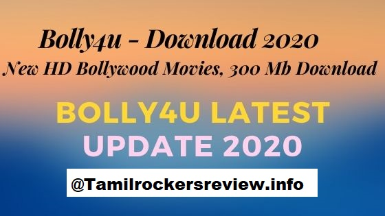 Bolly4u - Download 2020 New HD Bollywood Movies