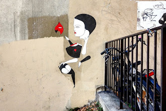 Sunday Street Art : Fred le Chevalier - passage Gauthier - Paris 19