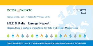 Presentato al PE il MED & Italian Energy Report 2019
