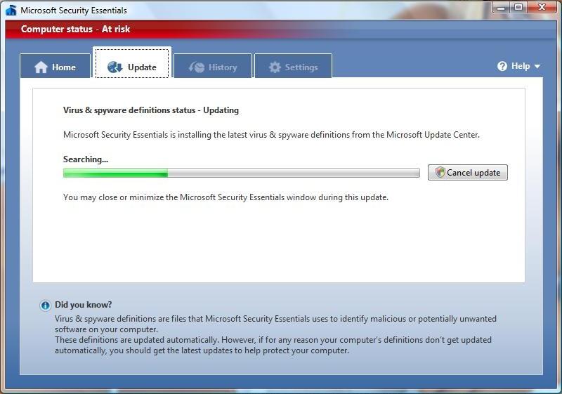 مايكروسوفت سكيورتي اسنشالز تنزيل مجاني