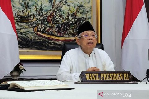 Wapres Maruf Amin Minta MUI Siapkan Fatwa Wajib Suntik Vaksin Corona