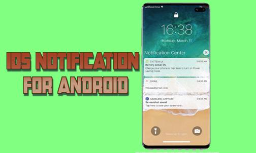 5 Langkah Cara Merubah Tampilan Notifikasi Android Menjadi iPhone Sepenuhnya