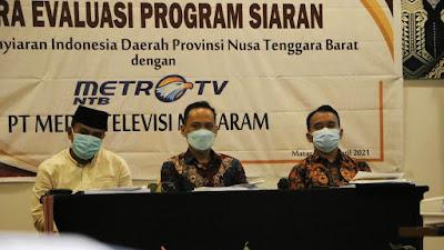 Komisi I DPRD NTB Sebut, Perlu Ada Perda Konten Lokal di TV Nasional