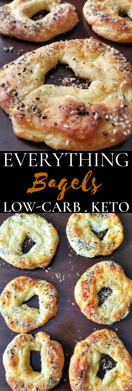 Keto Low Carb Everything Bagels #keto #breakfast