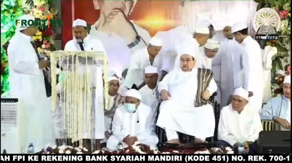 Wagub DKI-Habib Rizieq Hadir Acara Maulid Nabi di Tebet