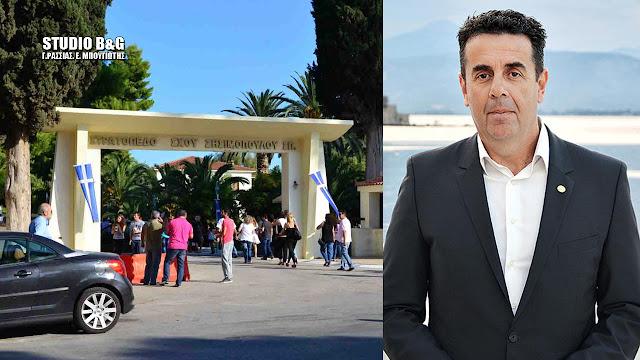 Δημήτρης Κωστούρος: Οι αποφάσεις για το στρατόπεδο Ναυπλίου είναι όλες μπροστά μας.