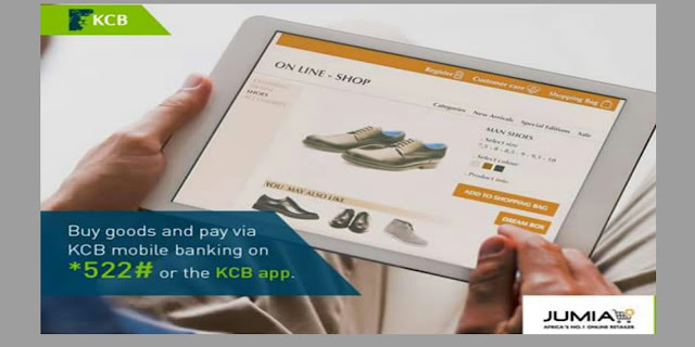 Paying for goods on jumia with KCB mobile banking