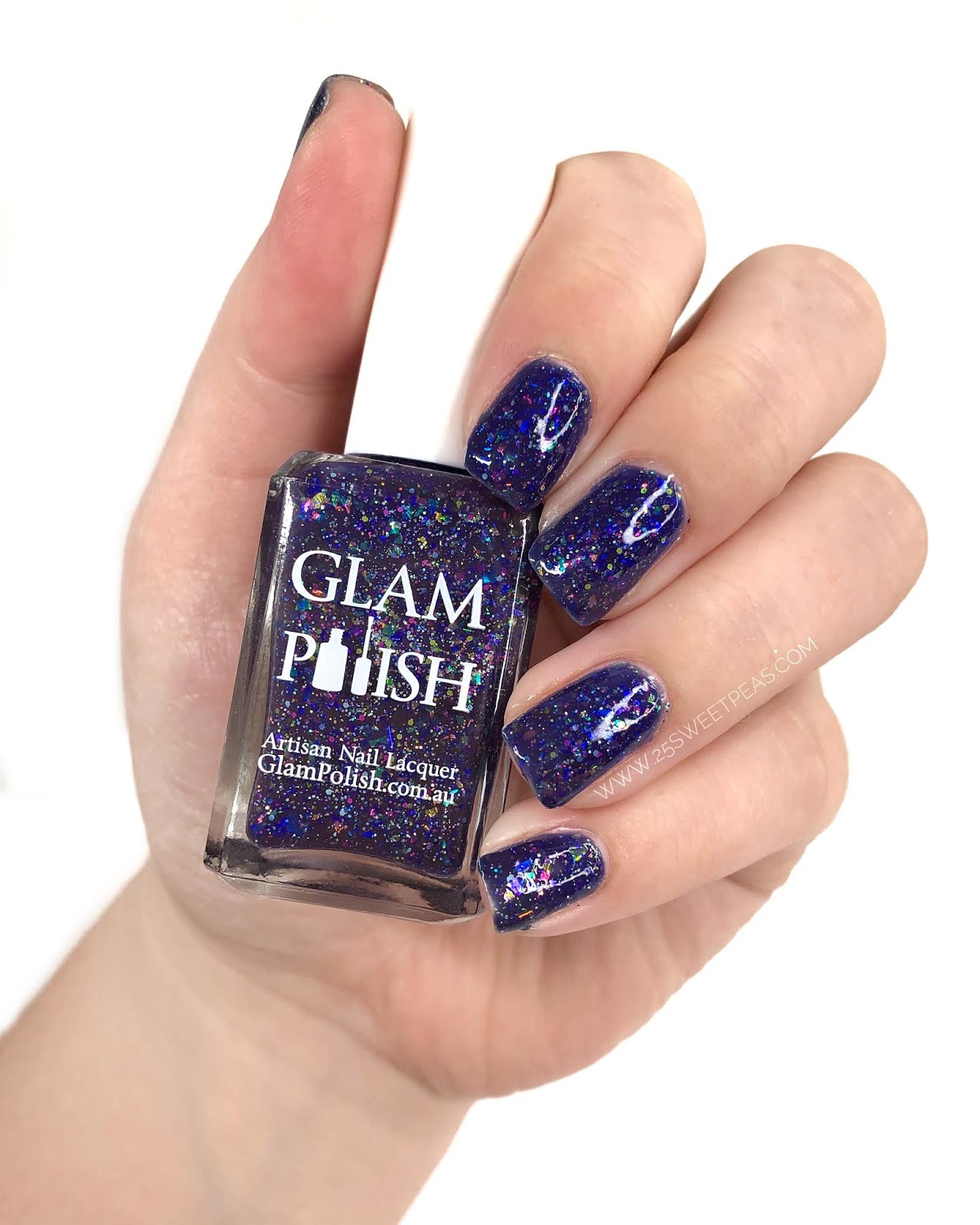 Glam Polish You Rock My Boat! 25 Sweetpeas