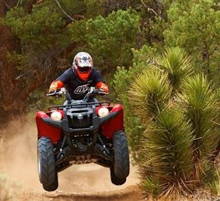 ATV adalah sebuah jenis olahraga yang menaikan adrenalin