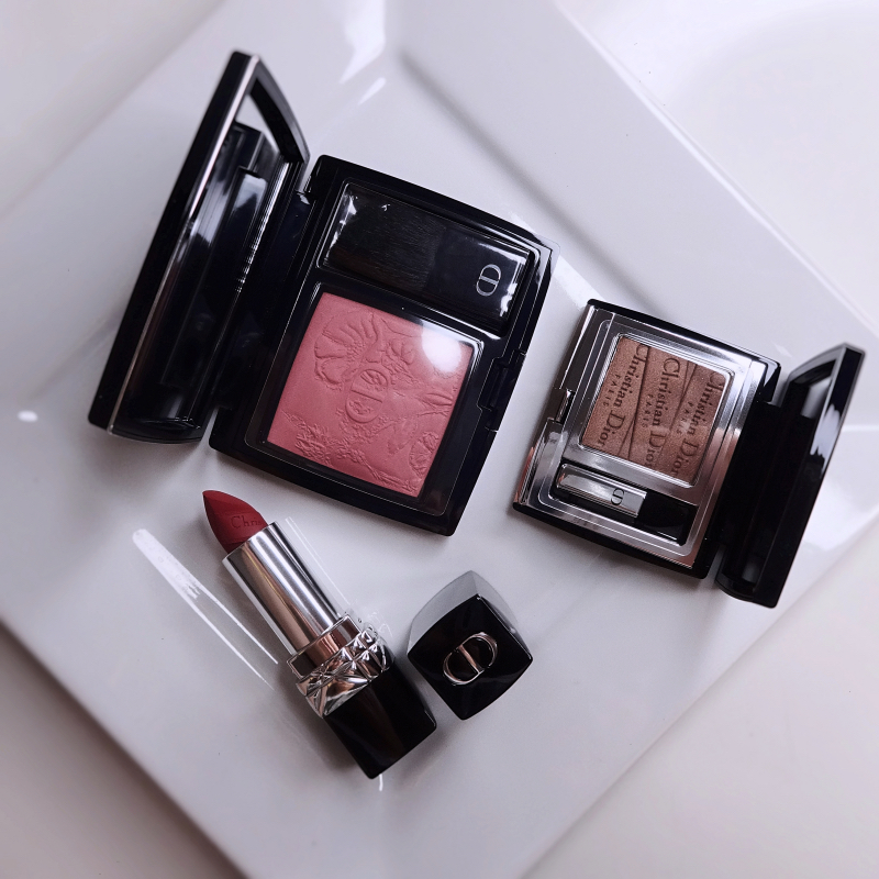 Dior limited edition makeup review swatches