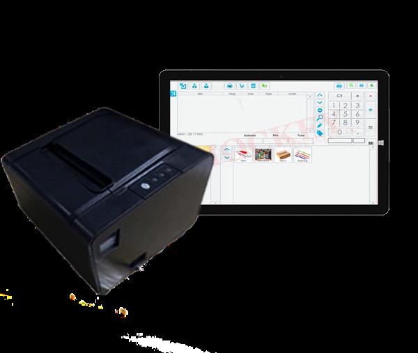 touchscreen software kasir