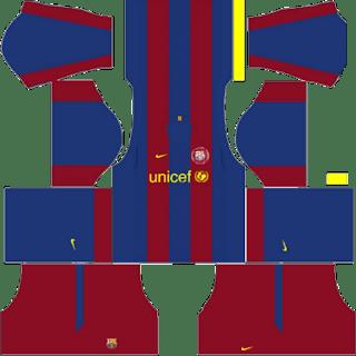 Kit DLS FC Barcelona 2007/2008