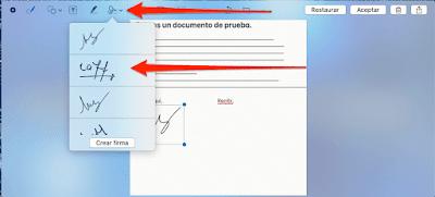 Agregar firma digital pdf Mac