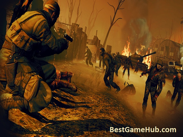 Sniper Elite Nazi Zombie Army 2 Action PC Game Download Free