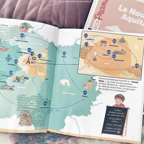 Mes docs France : La Nouvelle-Aquitaine et L'Île-de-France