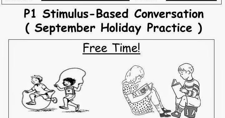 1E's class blog: Stimulus-Based Conversation