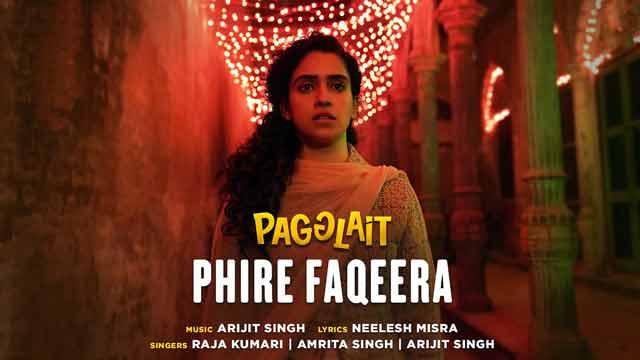 Lyrics Of New Songs Phire Faqeera - Arijit Singh