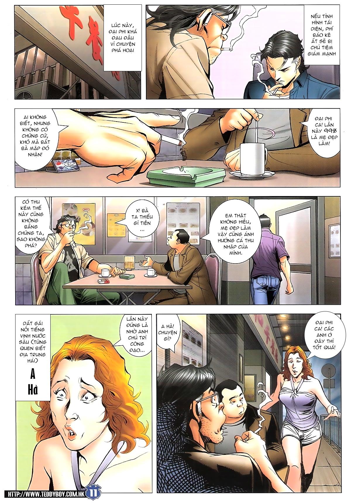 Người Trong Giang Hồ chapter 1645: làm khó đại b chảy trang 9
