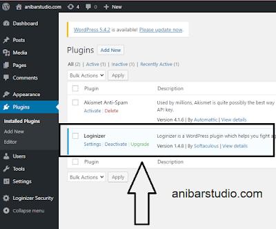 Cara Melindungi Halaman Login WordPress Menggunakan Plugin Loginizer