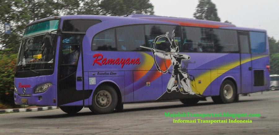 rute dan harga tiket Bus Ramayana
